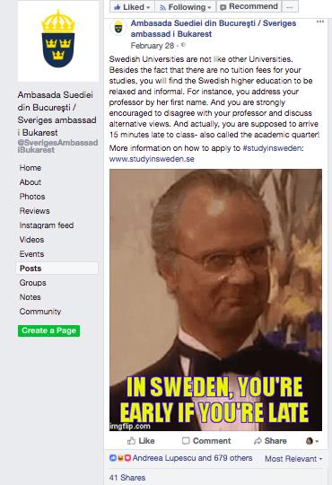 sistmeul de invatamant in Suedia